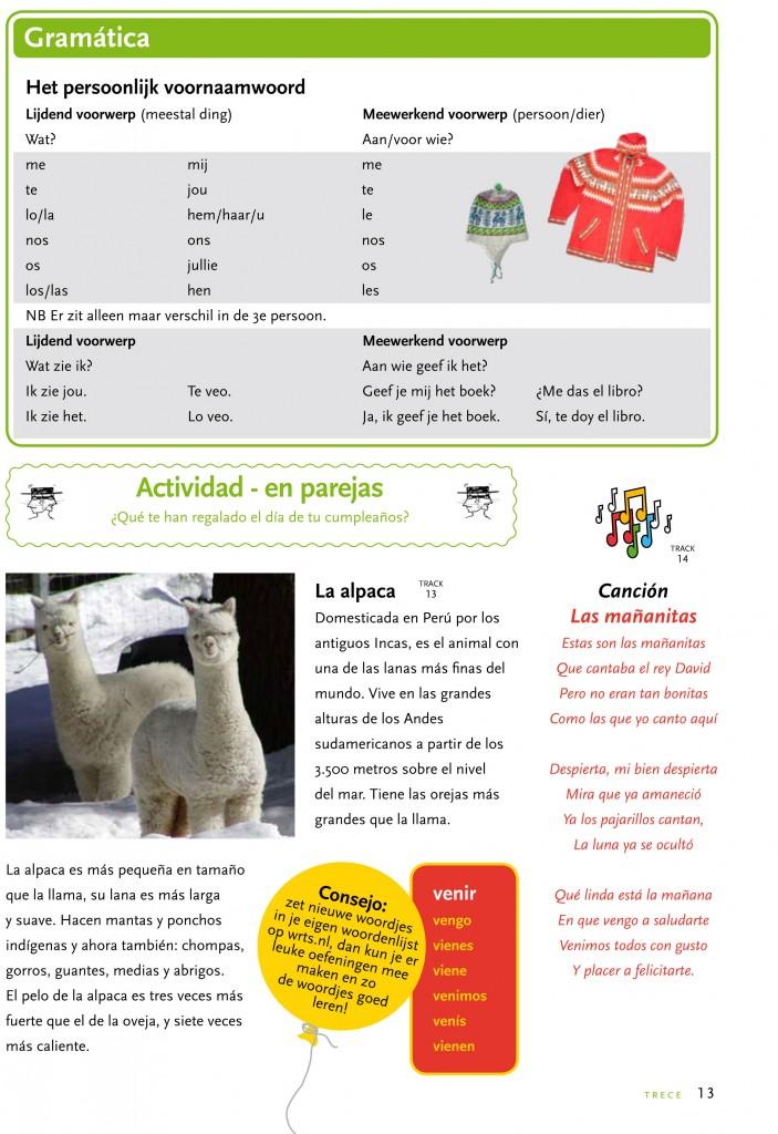 proefles deel 2 - Spaans voor de basisschool