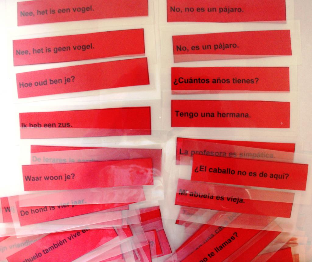 Spaans leren met spelletjes